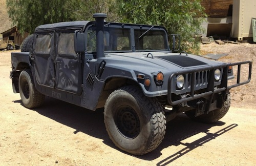 Humvee from The Avengers for sale on Ebay  Torque News